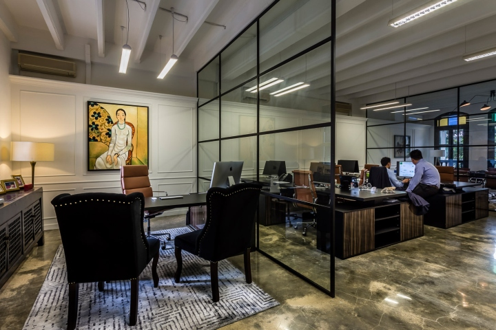 Singapore office interior design